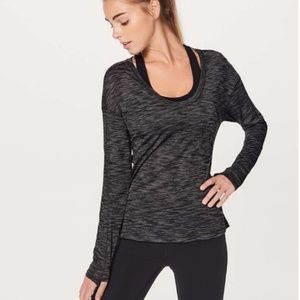 Meant To Move Long Sleeve - Heathered Black